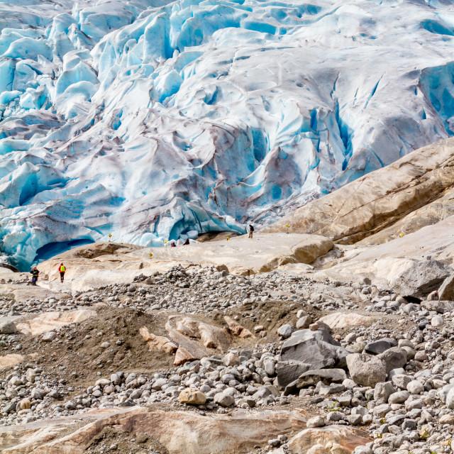 """Glacier"" stock image"