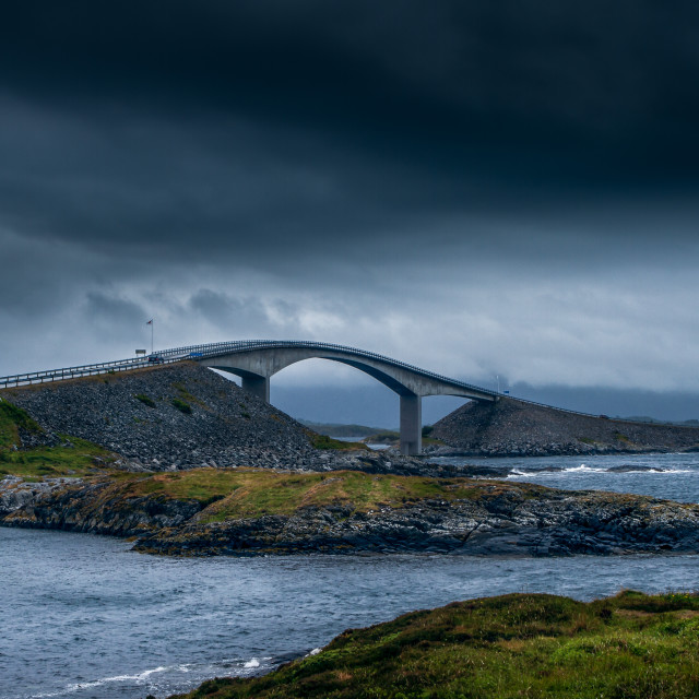 """The Atlantic Ocean road"" stock image"