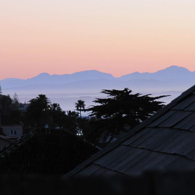 """Kalk Bay Sunrise"" stock image"