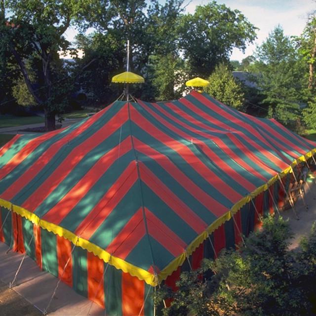 """""""Tent Theatre"""" stock image"""