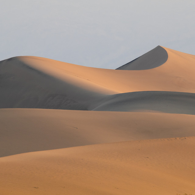 """Mesquite Flats Sand Dune"" stock image"