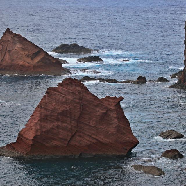 """Volcanic Rocks"" stock image"