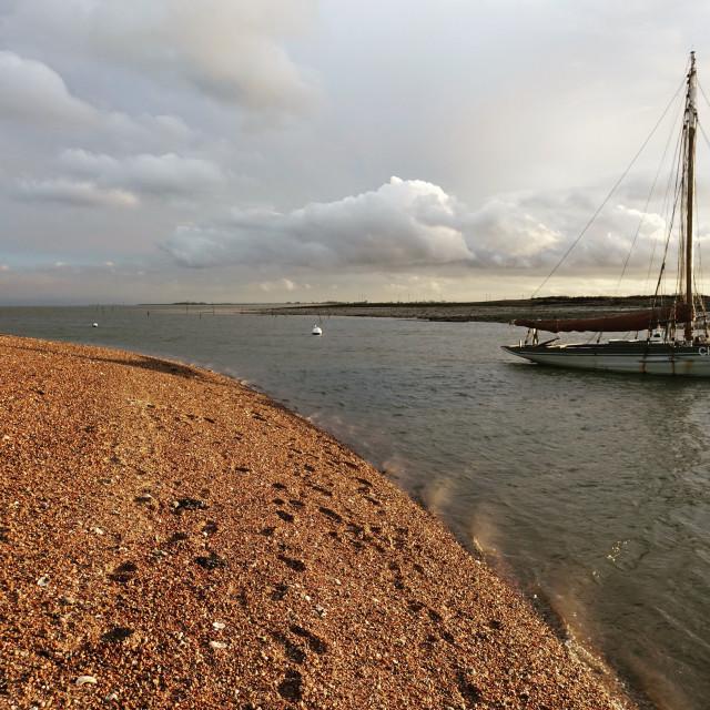"""Mearsea Island beach"" stock image"