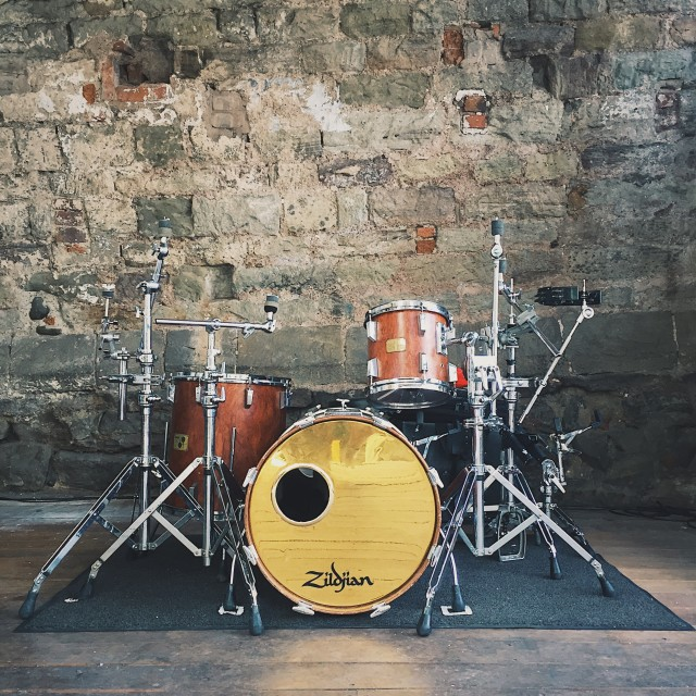"""Drum kit"" stock image"
