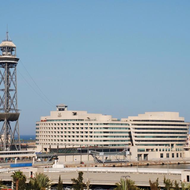 """World Trade Centre, Barcelona"" stock image"