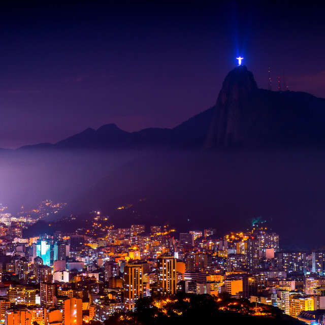 """Night in Rio"" stock image"