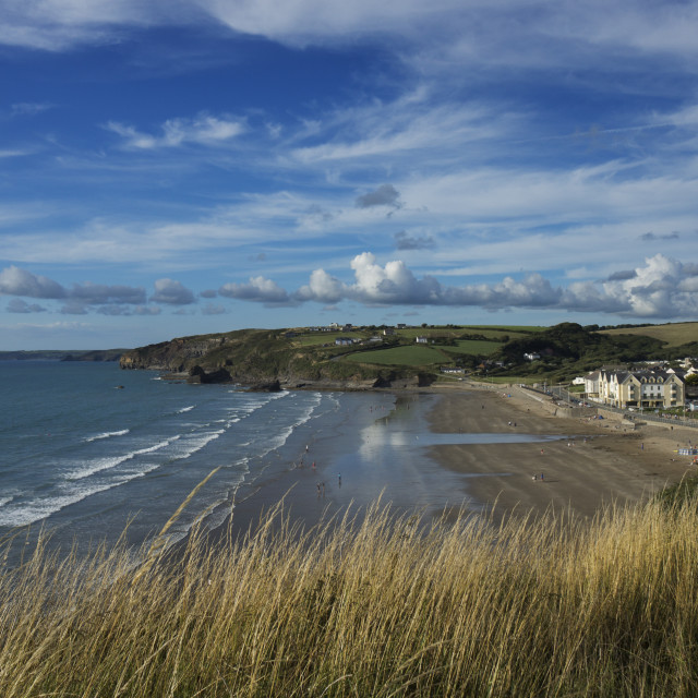 """""""Broad Haven"""" stock image"""