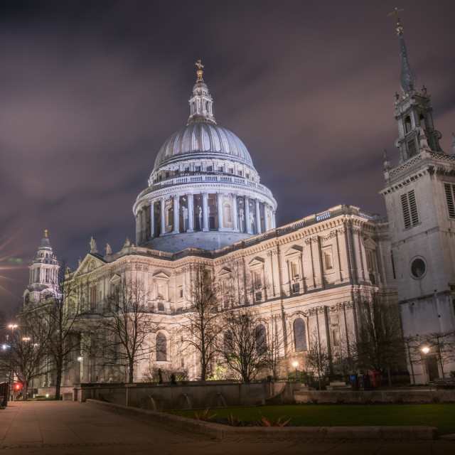 """""""St Paul's Cathedral (II)"""" stock image"""