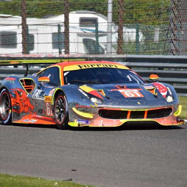 """""""Ferrari GTE"""" stock image"""