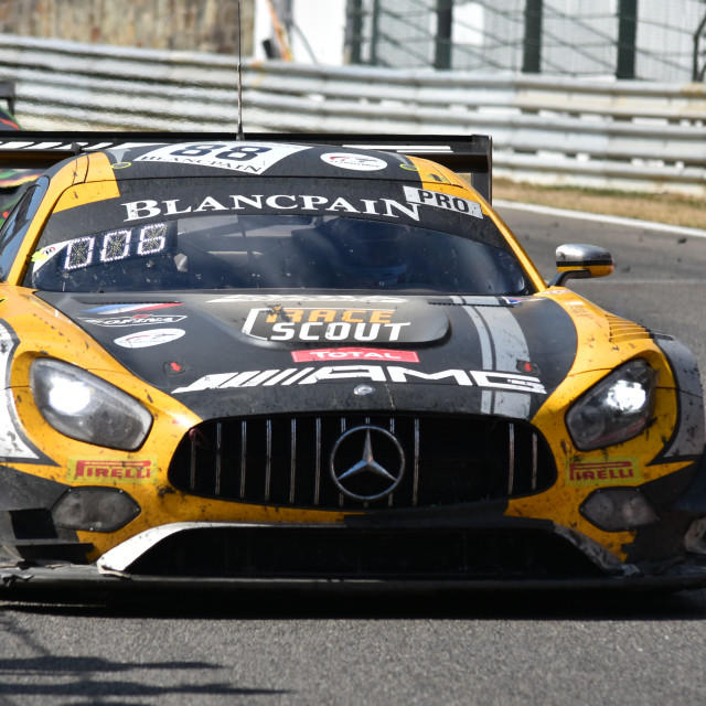 """Mercedes AMG GT3"" stock image"