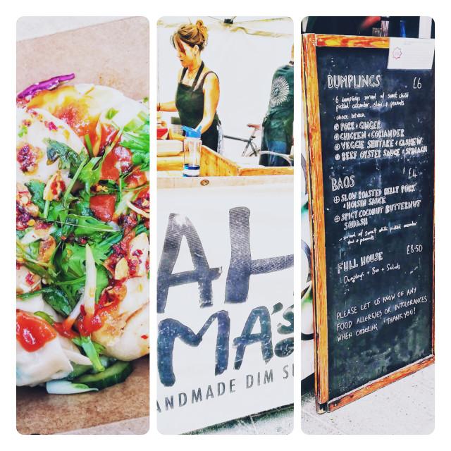 """Ah Ma's street food, Bristol"" stock image"