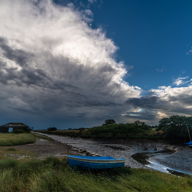 """Tail End Of The Storm in Beaumont Essex"" stock image"