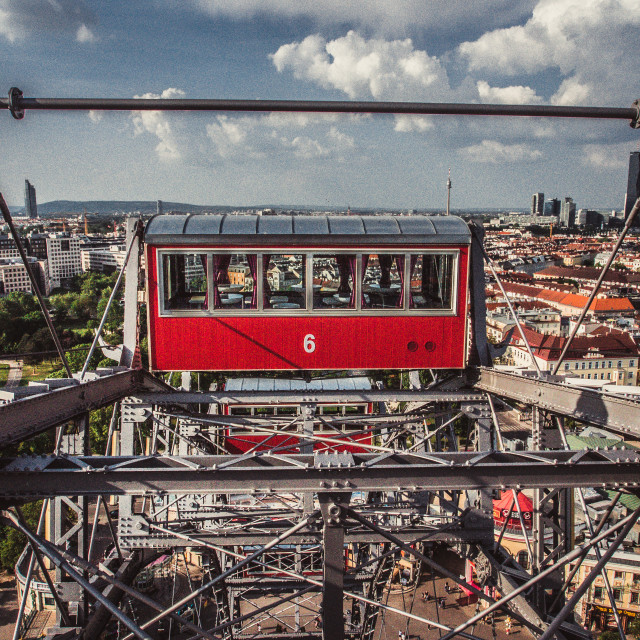 """The Wiener Riesenrad - 2"" stock image"