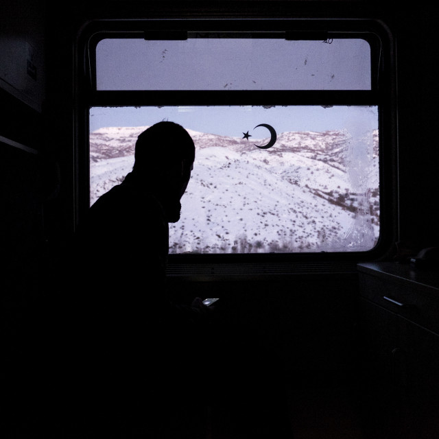 """Turkey train ride"" stock image"