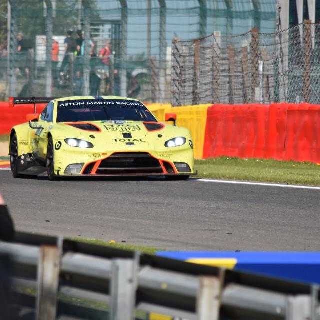 """""""Aston Martin GTE"""" stock image"""