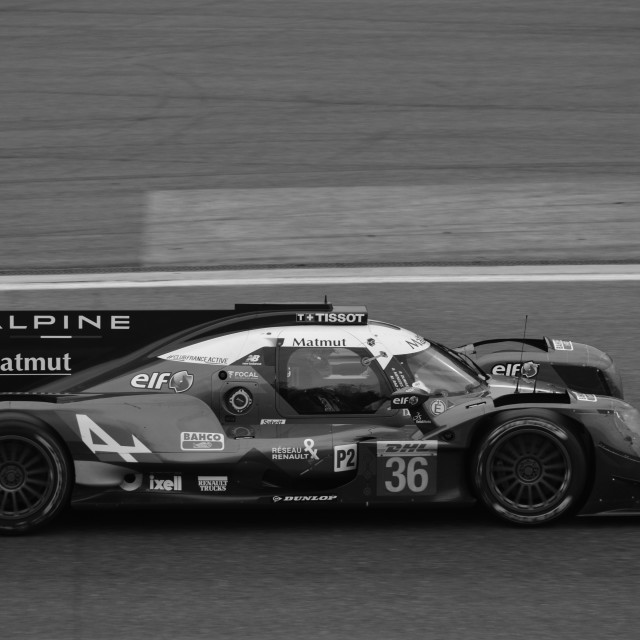 """Alpine LMP2"" stock image"