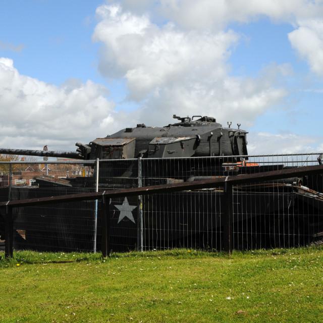 """""""Centurion Mark III Tank"""" stock image"""