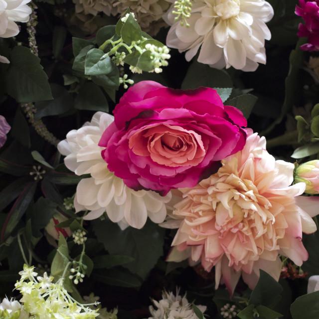 """Wedding flowers bridal bouquet"" stock image"