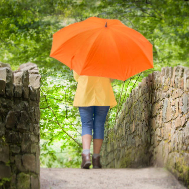 """""""Brolly day"""" stock image"""