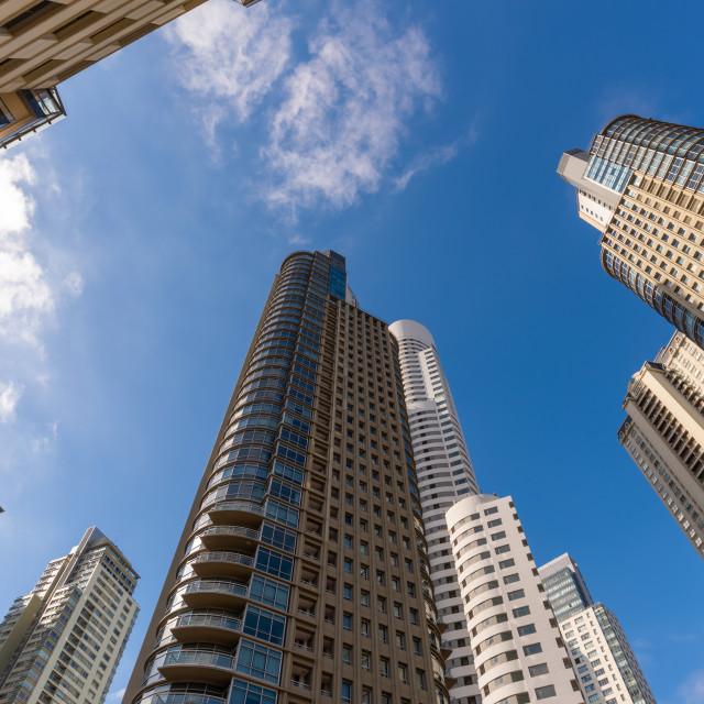 """""""Infinite Buildings"""" stock image"""