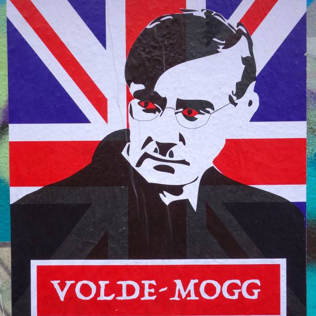 """Political Street Art"" stock image"