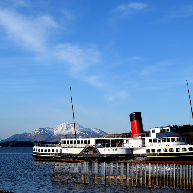 """Loch Lomond"" stock image"