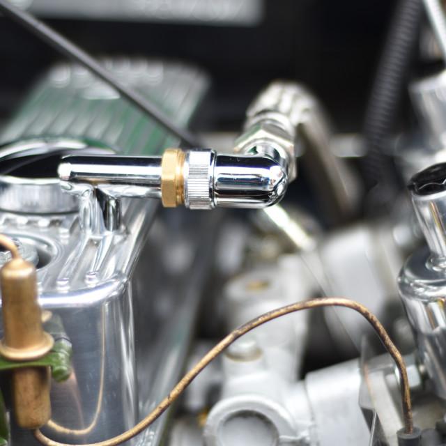 """""""Shiney Engine Bay"""" stock image"""
