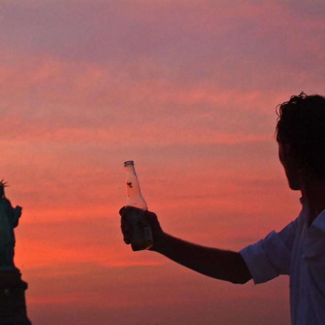 """Statue Of Liberty Toast"" stock image"