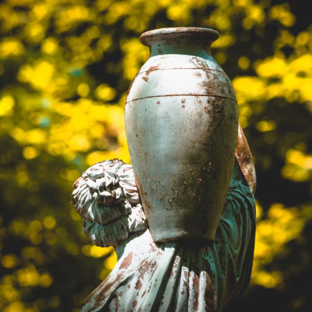 """""""Greek Water Goddess"""" stock image"""