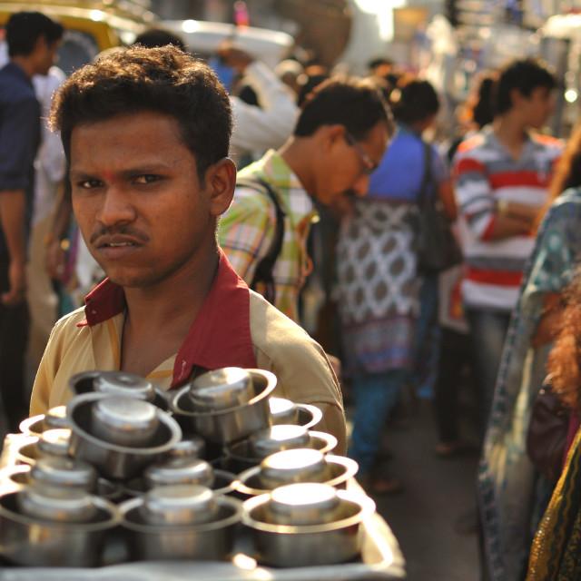 """Chai seller"" stock image"
