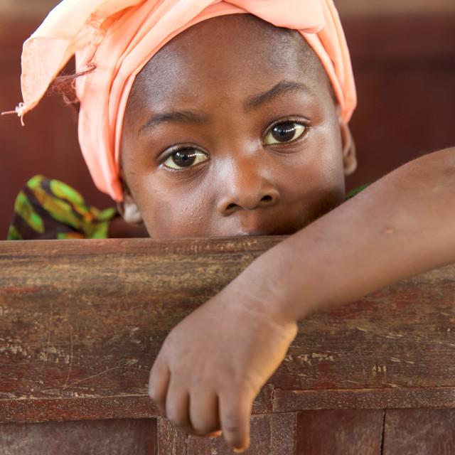 """Children and Childhood in the Serabu area - Sierra Leone III"" stock image"