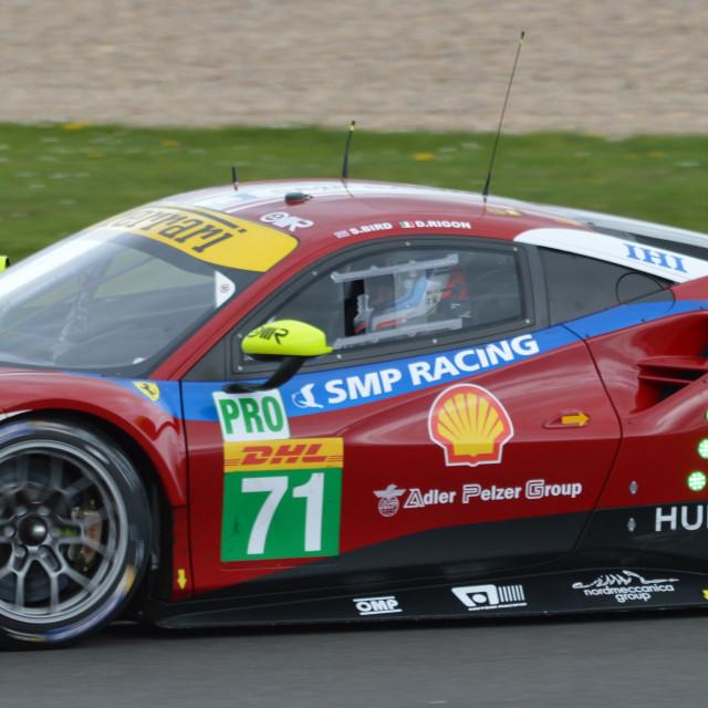 """AF Corse Ferrari"" stock image"