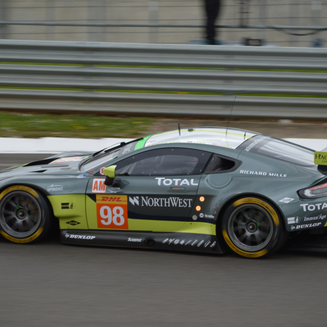"""Aston Martin Racing"" stock image"