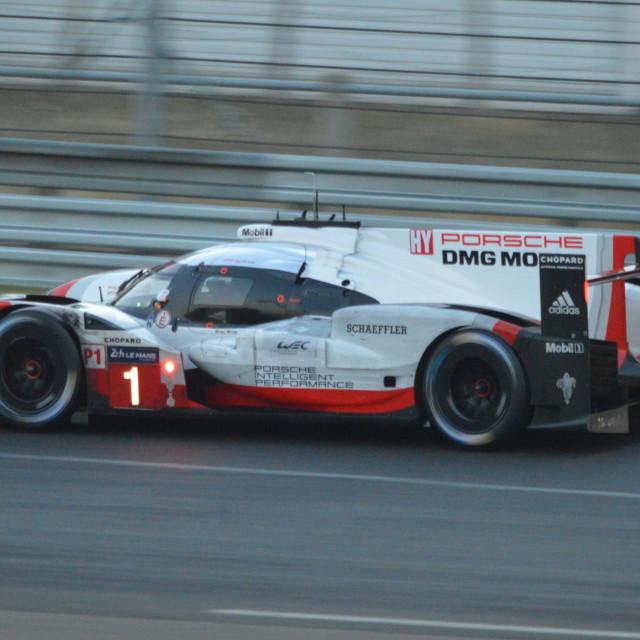"""Porsche 919 LMP1"" stock image"