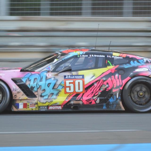 """""""Larbre Corvette"""" stock image"""