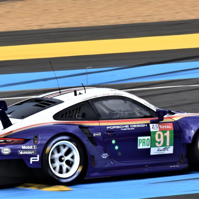 """Porsche GTE"" stock image"