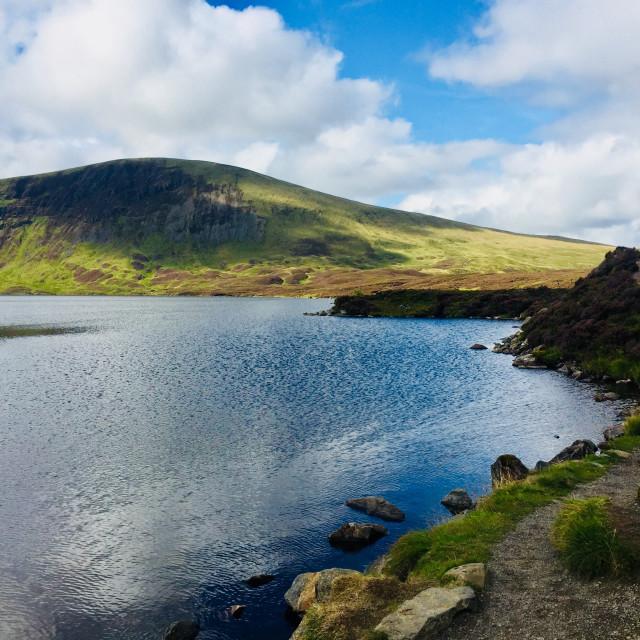 """Loch Skeen, Moffat, Scotland"" stock image"