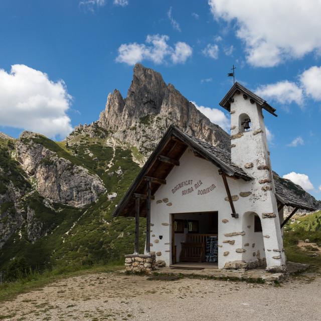 """Little chapel"" stock image"