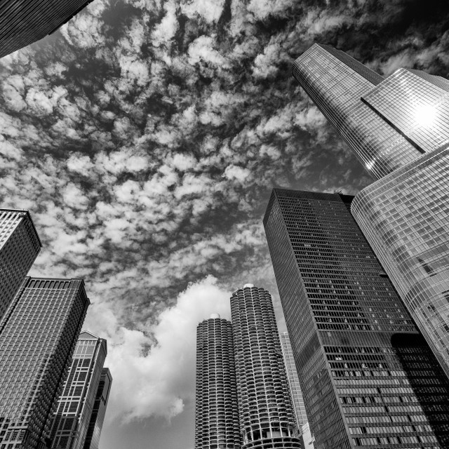 """Chicago Architecture: One Story At A Time"" stock image"