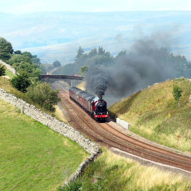 """Jubilee Steam"" stock image"