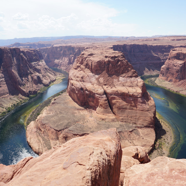 """Horseshoe Bend"" stock image"