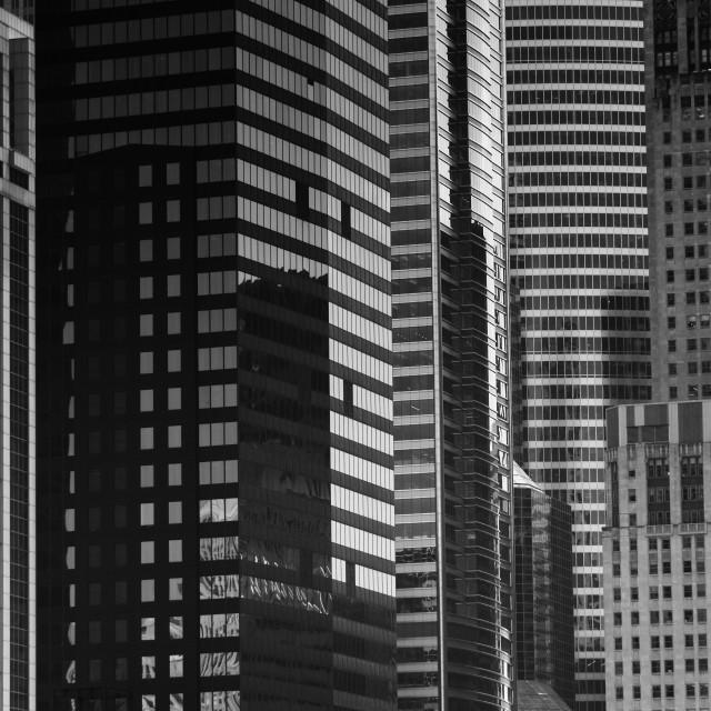 """City Mosaic: Chicago"" stock image"