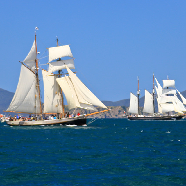 """Tall Ships"" stock image"
