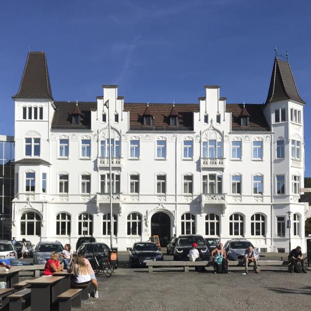 """Hotel Bielefelder Hof"" stock image"