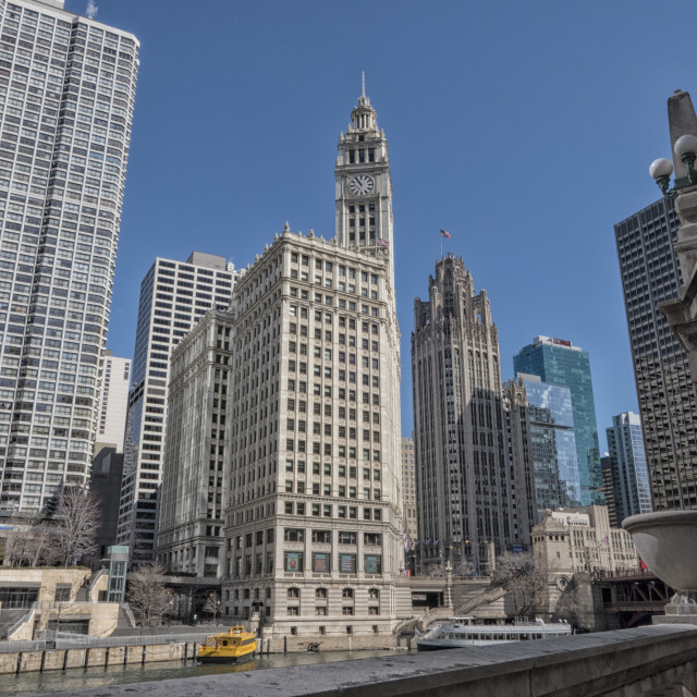 """""""Downtown Chicago"""" stock image"""