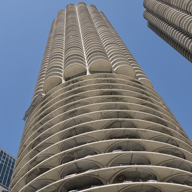 """Marina City, Chicago, Illinois"" stock image"