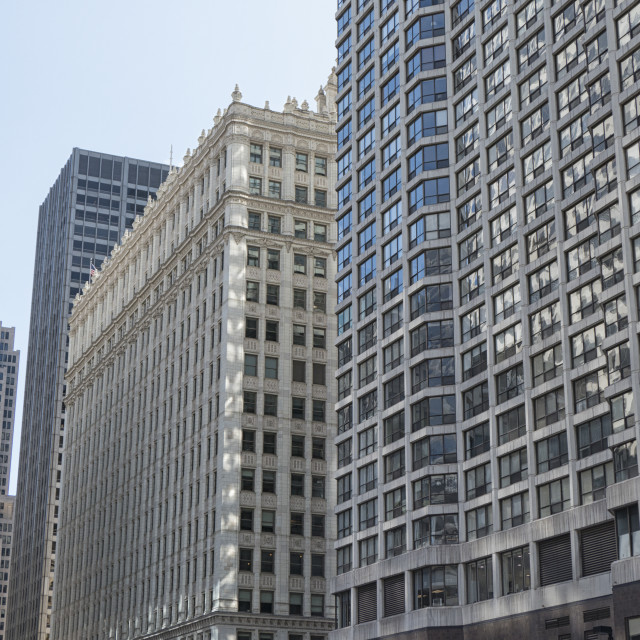 """""""Chicago buildings"""" stock image"""