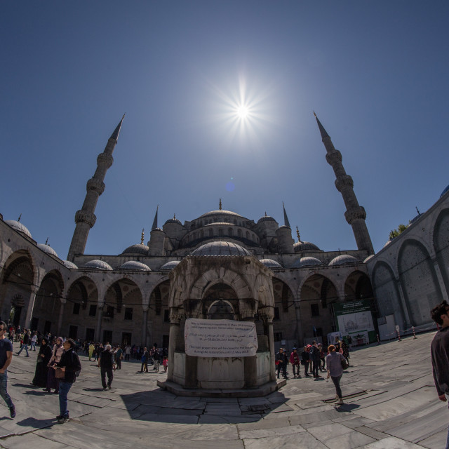"""The Blue Mosque, Istanbul"" stock image"