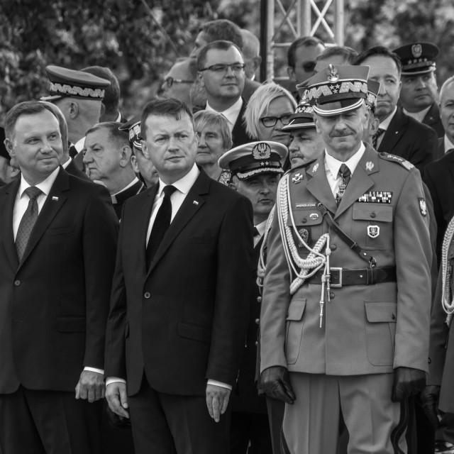 """Blaszczak - Poland's MoD"" stock image"