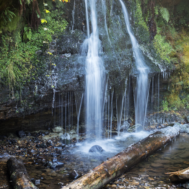 """Waterfall on the Falkland Estate"" stock image"